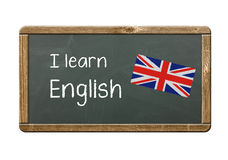 I learn English Stock Photos