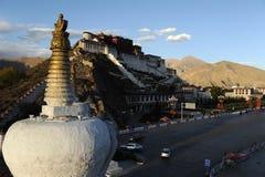 I Lhasa Tibet Royaltyfri Fotografi
