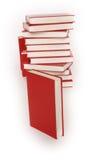 I libri delle pile di libro imparano Fotografie Stock Libere da Diritti