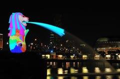 I Light Marina Bay Stock Images