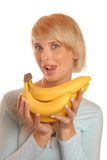 I like banana Royalty Free Stock Photos