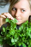 I like basil Stock Photos