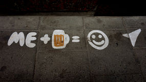 I like beer Royalty Free Stock Images