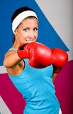 I like boxing! Royalty Free Stock Photography
