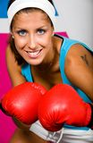 I like boxing! Royalty Free Stock Photos