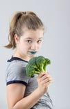 I like broccoli Stock Photography
