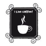 I like coffee Stock Image