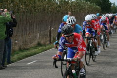 I like cycling on championships Royalty Free Stock Photography