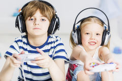I like this game Royalty Free Stock Photo