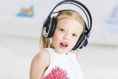 I like listen music Royalty Free Stock Photography