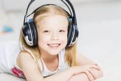 I like listen music Royalty Free Stock Images