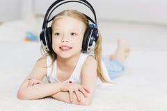 I like listen music Stock Photos