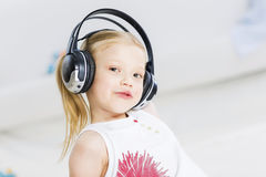 I like listen music Royalty Free Stock Photography