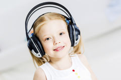 I like listen music royalty free stock images