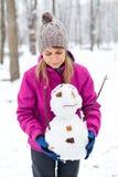 I like Mr. Snowman Stock Photo