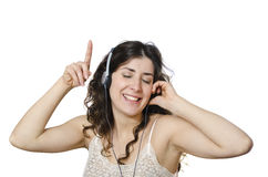I like this music! Stock Photo