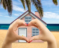 I like my beach house Royalty Free Stock Image