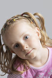 I like my hair Stock Image