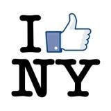 I Like New York Stock Photo