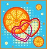 I like orange juice Royalty Free Stock Image
