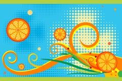 I like orange juice Stock Photos
