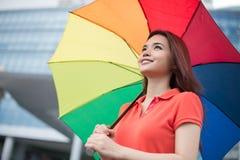 I like rainy weather! Royalty Free Stock Image