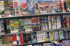 I like reading magazines. Stock Photography