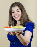I Like Salad Royalty Free Stock Photography