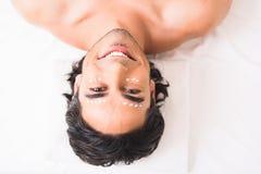 I like skincare treatment at spa Royalty Free Stock Images