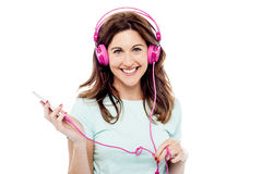 I like this song ! Stock Photography