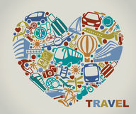 I like to travel Royalty Free Stock Images