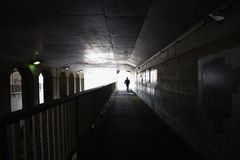 Underpass Royalty Free Stock Photography