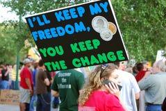 I'll Keep My Freedom Royalty Free Stock Photo