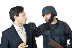 I'll take you to jail Stock Images