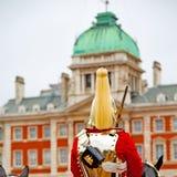 i london England horse och kavalleri för drottningen Arkivbilder
