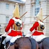 i london England horse och kavalleri för drottningen Royaltyfri Foto