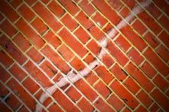 i london   textur av en ancienvägg och ett fördärvat bric Royaltyfria Foton