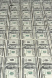 I lotti di cento dollari Fotografie Stock Libere da Diritti