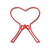 I Love. Tennis, squash.... Original logo stock illustration
