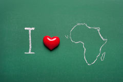 I love Africa Stock Images