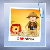 I love Africa Royalty Free Stock Image