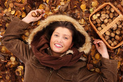 I love autumn! Stock Photography