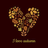 I love autumn Stock Image