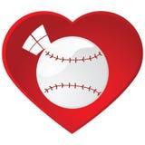 I love baseball Stock Images