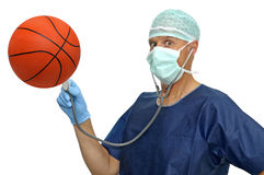 I Love Basketball Royalty Free Stock Image