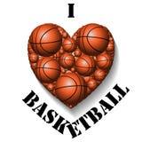 I love basketball Stock Image