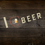 I love beer badges logos and labels for any use Stock Images