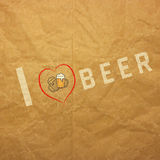I love beer badges logos and labels for any use Royalty Free Stock Photography