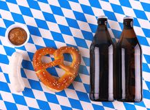 I Love Beer - Munich Oktoberfest concept Stock Photos