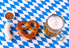 I Love Beer - Munich Oktoberfest concept Stock Images